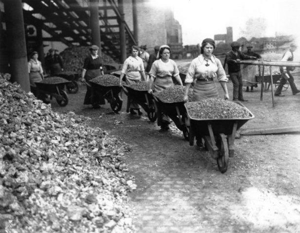 papel de la mujer en la 1 guerra mundial