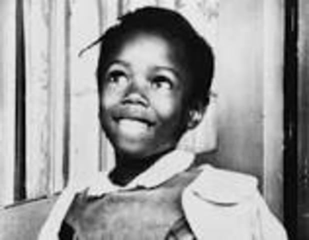 Ruby Bridges enters school