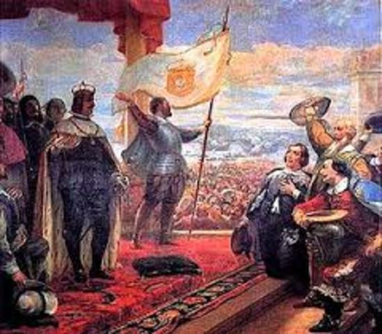 Guerra de secesión portuguesa.