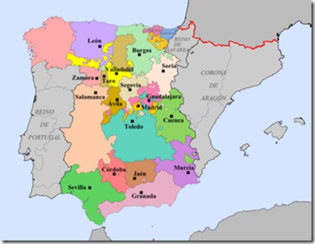 Organizacióon territorial previa