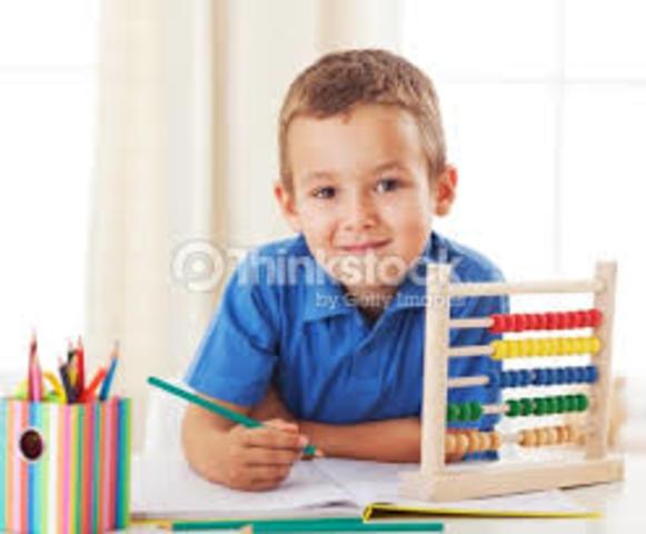 SEXTO AÑO DE VIDA- Etapa escolar