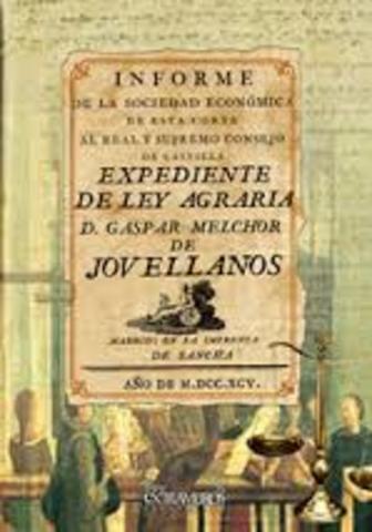 Expediente de la Ley Agraria de Jovellanos 1795