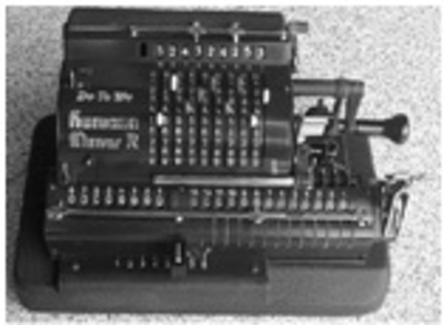 Tarjetas Perforadas para control de calculadora mecánica