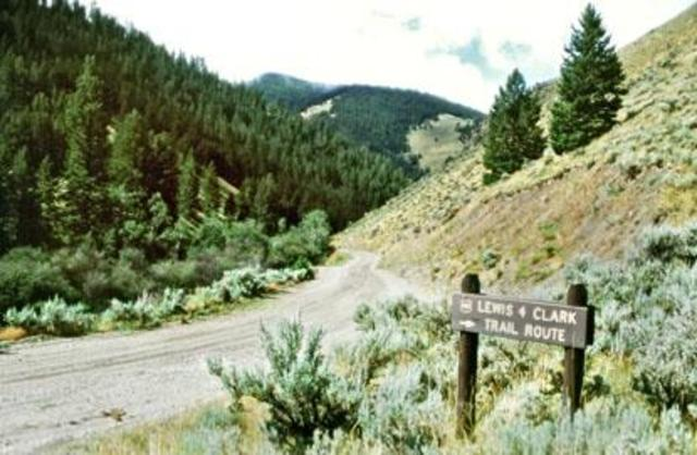 An experience that happened in present day Idaho