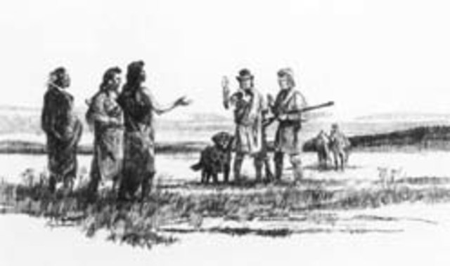 A spot where the expedition was significantly aided by the help of a native tribe
