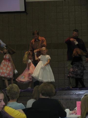 dad, daughter dance