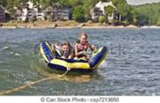 First time tubing