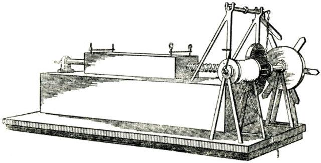 Cтанок для насечки напильников Леонардо да Винчи