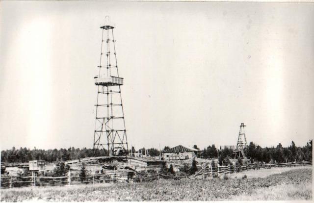Первый фонтан в Березово
