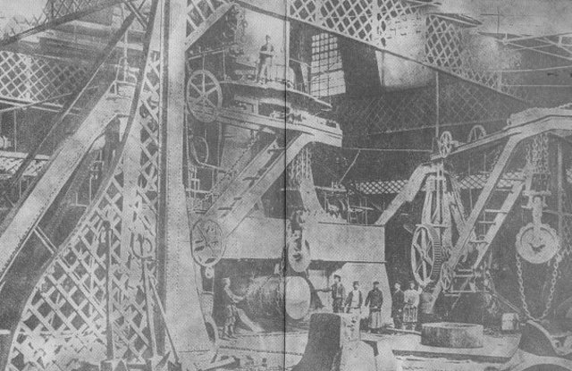 ЦАРЬ-МОЛОТ ПЕРМСКИЙ - ковочный 50-тонный молот на Мотовилихинском заводе