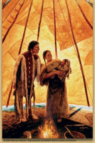 Help from a Tribe and Sacagewea's Brother