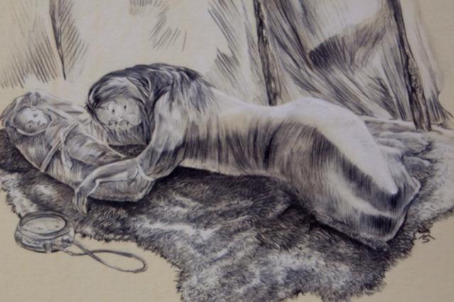 The Near Death of Sacagawea and Tree Bark