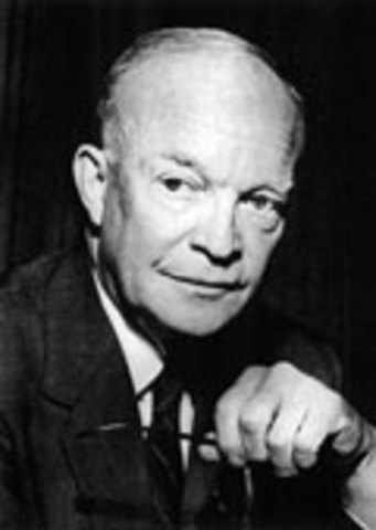 Eisenhower Rejects Troop Committment