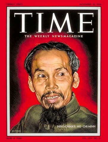 Ho Chi Minh on Cover of Time Magazine
