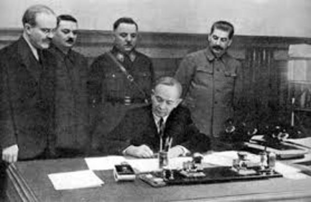Finland signs a peace treaty with Soviets.