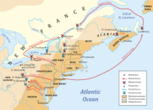 Start of the French and Indian War - Wars & Battles