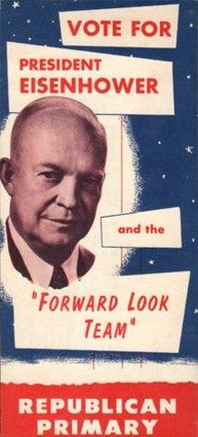 U.S. President Dwight D. Eisenhower