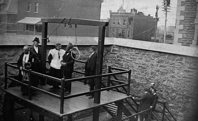 Death penalty abolished in Canada