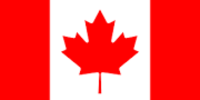 New official Canadian flag