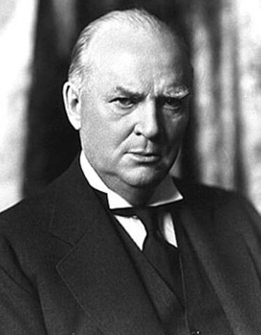 R. B. Bennett elected prime minister