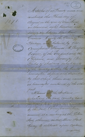 {Documents Acts & Treaties} - Treaty No.2