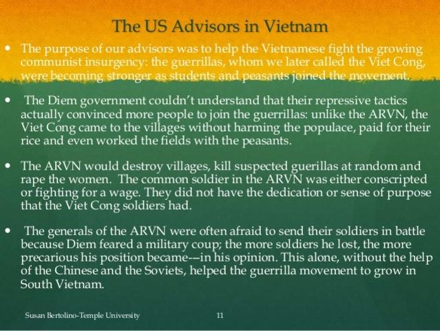 Growing Insurgency in South Vietnam