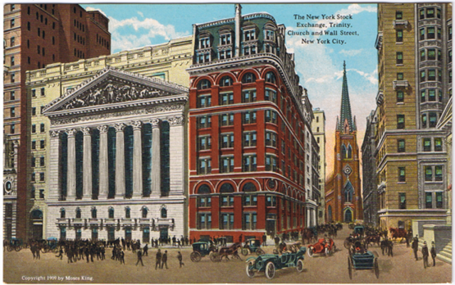The New York Stock Exchange Began