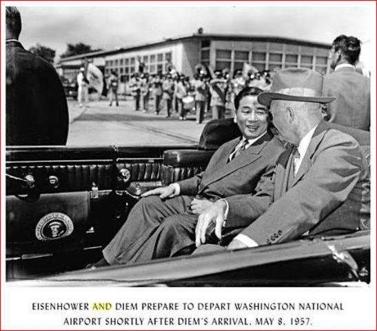 President Diệm Visits U.S.