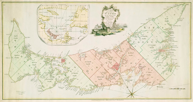 Prince Edward Island, formerly part of Nova Scotia, becomes separate British colony - Colonies & Settlements
