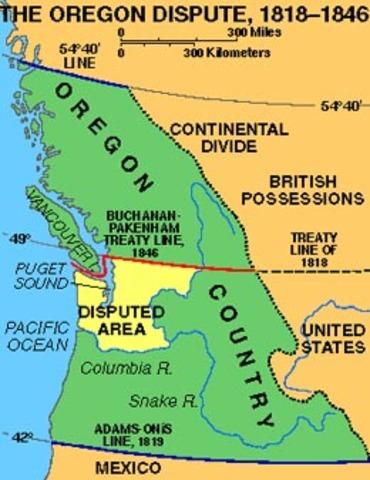 Oregon Boundary Treaty