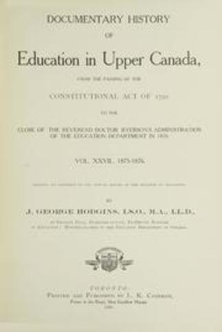 Ryerson Publishes Report on Education