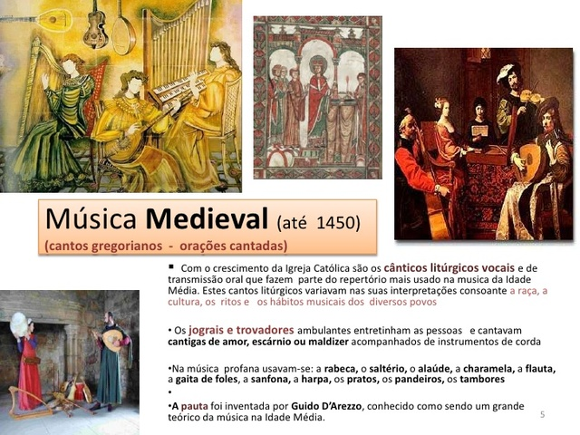 MusicaMedieval - Cantos Liturgicos