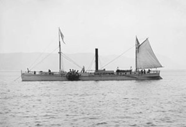 Canada's First Steamboat - Notable Event