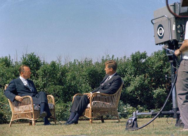 JFK Interview with Walter Cronkite