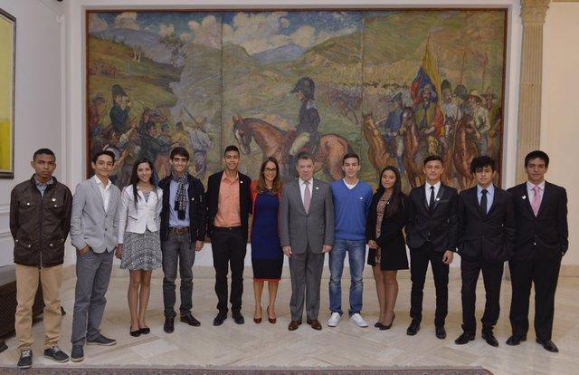 Ramón Leal del Grado Undécimo reconocido por sus resultados en el ICFES