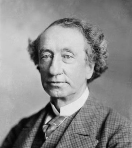 Sir John A. McDonald, first prime minister