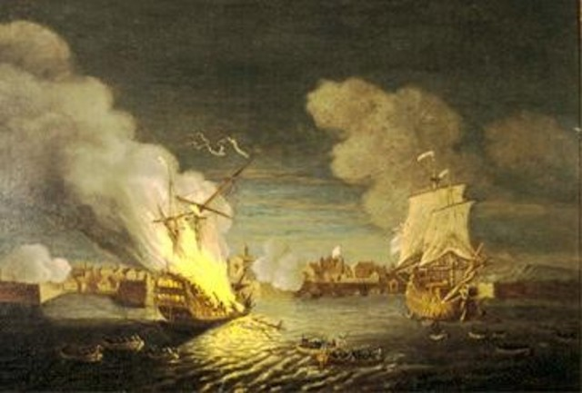 {Wars & Battles} - Siege of Louisbourg - The British capture Louisbourg from the French