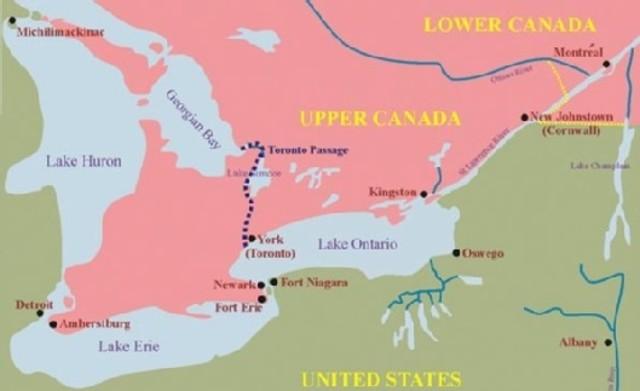 {Provincial Notes} - capital of Upper Canada