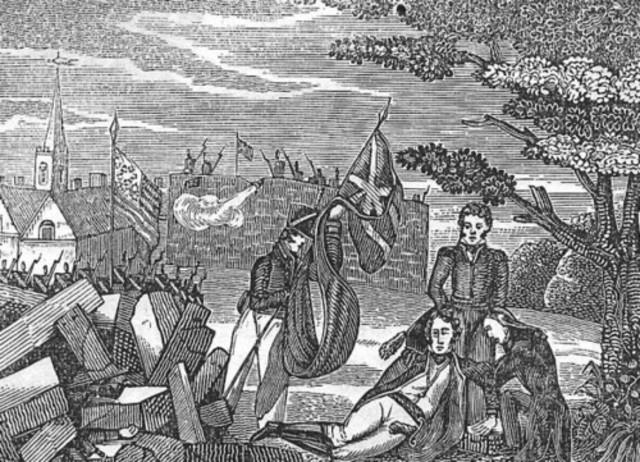 {Wars & Battles} - Americans burn York
