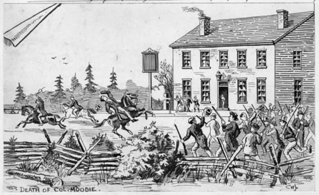 {Wars & Battles} - Upper Canada rebels
