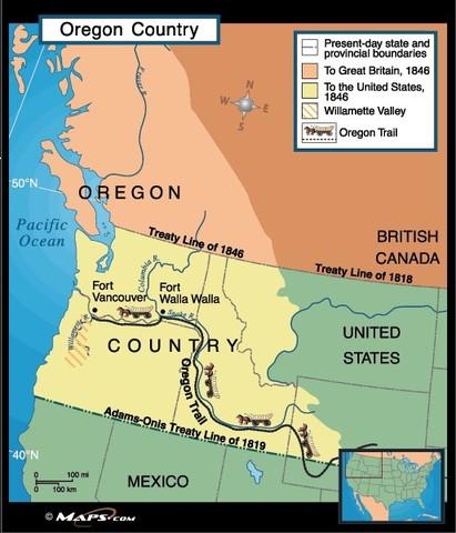 {Documents Acts & Treaties} - Oregon Treaty