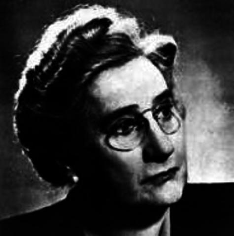 Agnes Macphail, the first woman elected into parliement