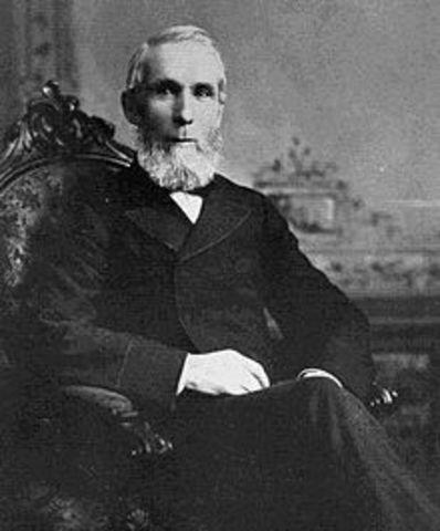 Alexander Mackenzie, becomes prime minister