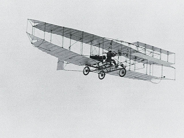 Canada's first airplane, the AEA Silver Dart, flew 1 km
