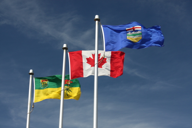 Alberta and Saskatchewan become newest provinces