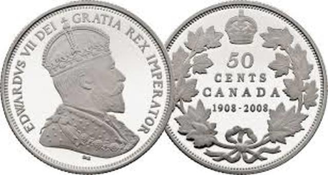 The dominion's first domestically produced coin