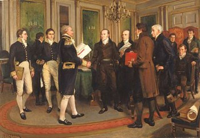 The Treaty of Ghent officially ends the war - Documents, Acts & Treaties