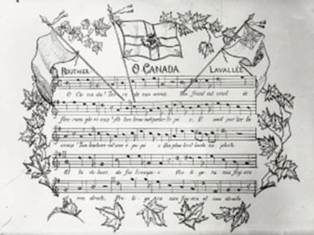 {Notable Events} - National Anthem