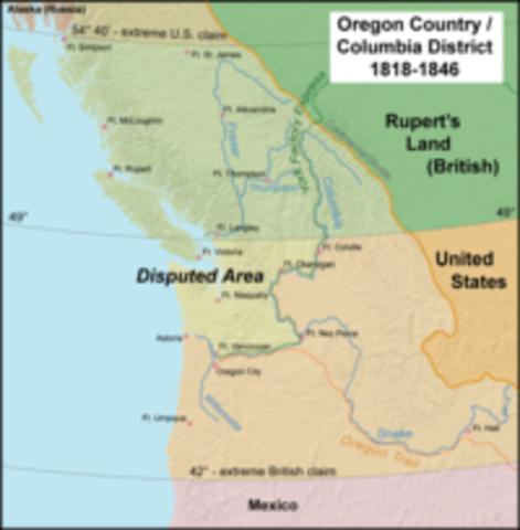 The Oregon Treaty - Documents, Acts & Treaties