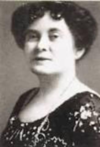 Augusta Stowe-Gullen - Notable Events
